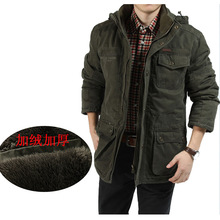 AFS JEEP Marke Warme Winter Männer Jacken Big Plus Größe M-8XL Hohe Qualität 100% Baumwolle Casual Mantel Casaco dicke Jacke
