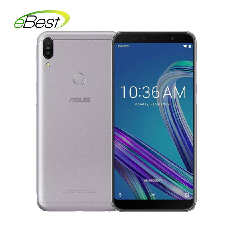 Asus ZenFone Max Pro (M1) ZB602KL Smartphone 4GB 64GB SnapDragon 636 Android 6.0'' 18:9 FHD Telephone Face ID 5000mAh Cellphone