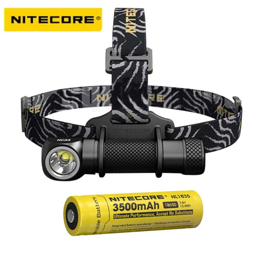 2017 new Nitecore HC33 CREE XHP35 LED 1800 lumens High Performance Headlamp+Nitecore 18650 battery latest 2017 nitecore ec23 1800 lumens cree xhp35 hd e2 led high performance flashlight with battery imr18650 2500mah 35a