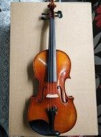 Free Shipping FPVN04 Copy Stradivarius 1716 100% Handmade Oil Varnish Violin + Carbon Fiber Bow Foam Case