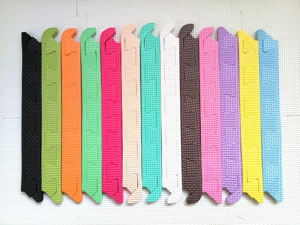 Matt Mats Edge Fit 30x30x1cm Baby Play Mat One Set = 12piece Edge For 9piece Foam Mat Floor Tiles Linings Borders Sidebars
