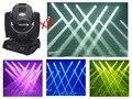 2 pçs/lote, extremidade mais alta qualidade 230 W 7R Feixe de Luz Em Movimento Da Cabeça Feixe de 200 W Sharpy 5R LED Com tela grande Sensível Ao Toque Stage Disco DJ Clube