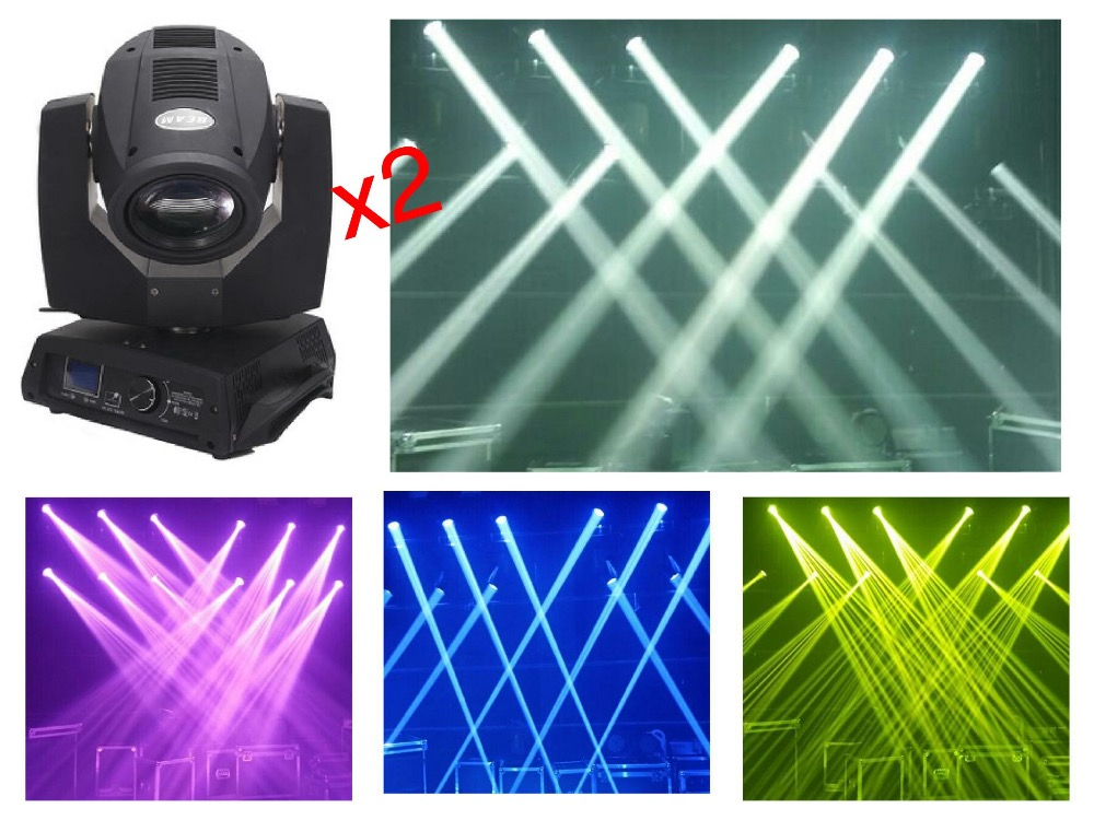 2pcs/lot, Highest end quality 230W Beam 7R Moving Head Light Beam 200W Sharpy 5R LED With big Touch screen Stage Disco DJ Club