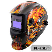 LED Light Li Battery /Solar Automatic Darkening Welding Helmet/Mask Eyes Protection Welder Cap Welding Lens for Welding Machine