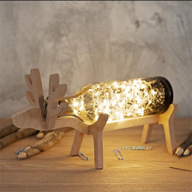 Creative Romantic Fairytale Woog Bubble Crystal Glass Led Table Lamp For Wedding  Decor Valentineu0027s Day Present