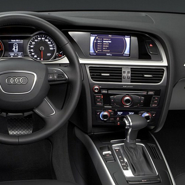 MMI 3G/MMI 3G плюс автомобиль видео Интерфейс для Audi A4 B8 2010 2014 автомобилей задний Камера