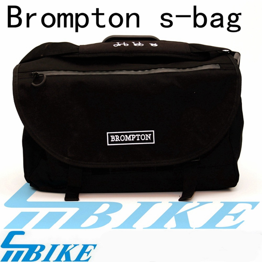 S-bag for brompton folding bicycle handlebar basket DuPont waterproof material folding bag front ace bike basket bag for brompton vegetable basket dupont waterproof fabric
