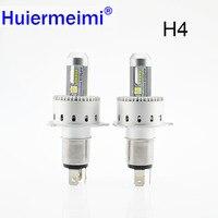 2 יחידות רכב LED פנס רכב סופר מבריק הנורה פנס H4 H7 H11 H1 9005 9006 40 W DC12V-24V לבן אוטומטי תאורת מנורת ראש