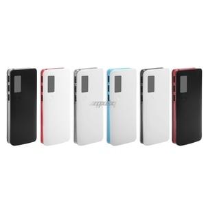 Image 2 - 3 Cổng USB 5X18650 DIY Pin Di Động Giá Đỡ Màn Hình LCD Màn Hình Hiển Thị Công Suất Ngân Hàng Hộp Ốp Lưng Whosale & Trang Sức Giọt