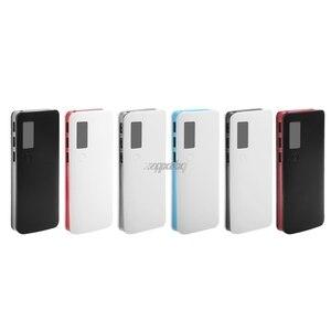 Image 2 - 3 portas usb 5x18650 diy titular da bateria portátil display lcd caso caixa de banco de potência whosale & dropship