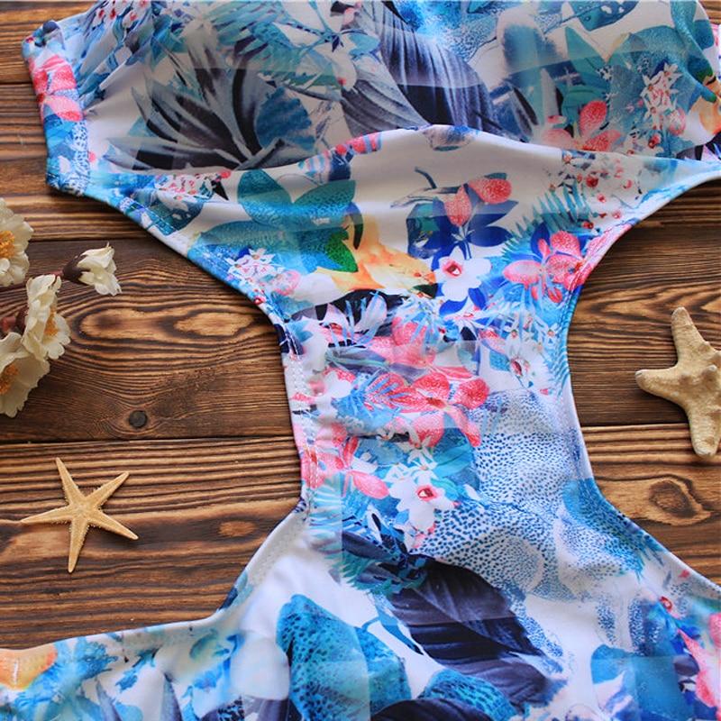 Lovey Village Swimwear Әйелдер бір дана Swimsuit 2017 - Спорттық киім мен керек-жарақтар - фото 3