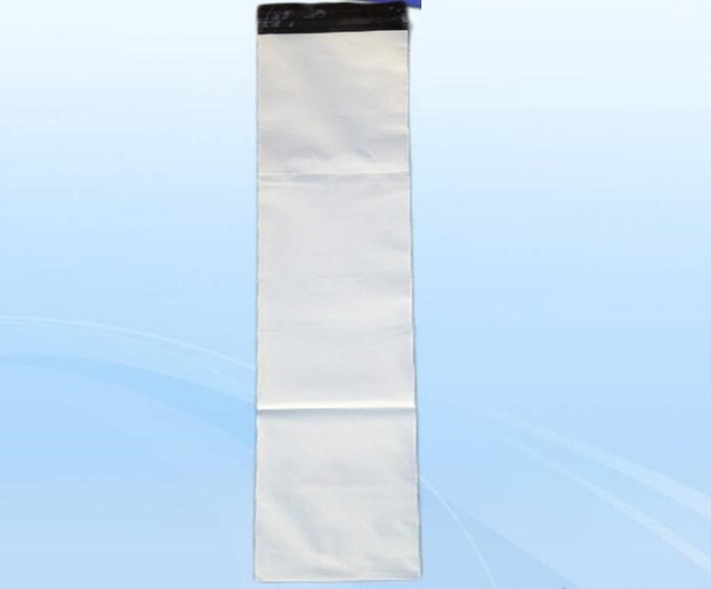 25x70cm 100pcs Long White Poly Mailer Plastic Shipping Mailing Bag Envelopes Bags Strong Seal
