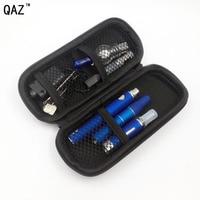 Qaz 4 в 1 испаритель электронная сигарета mod kit моды встроенный Батарея травяной воск сухой травы жидкостью VAPE пера пара vapes с распылитель