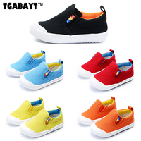 TGABAYT 5 Colors Kids Casual Canvas Sneakers Baby First Wlakers Boys Girls Casual Shoes Good Quality