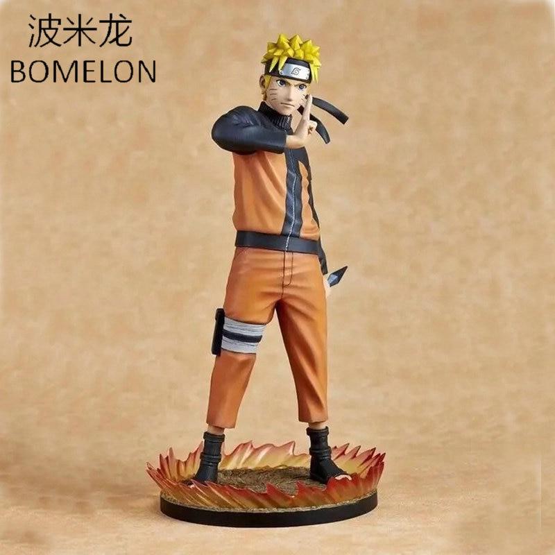 26cm Uzumaki Naruto Aciton Figures Shippuden Toys Japanese font b Anime b font Figure 1 6