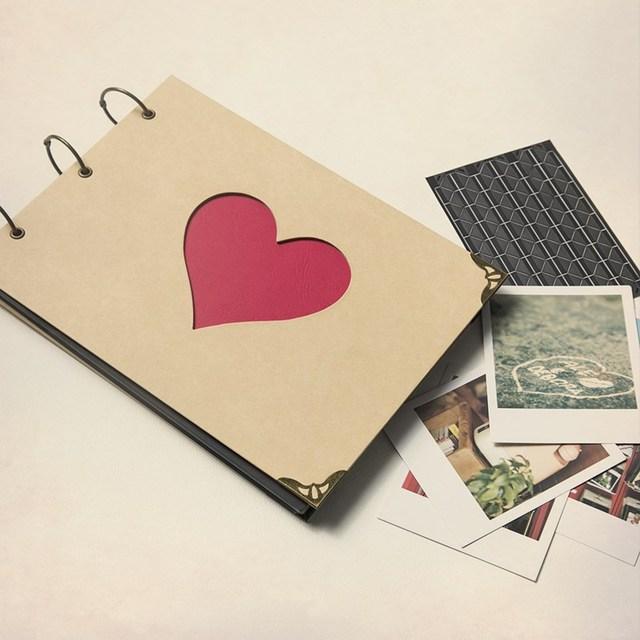 Eccezionale Scrapbook per il fidanzato/fidanzata/fidanzato/regalo di  ZY77
