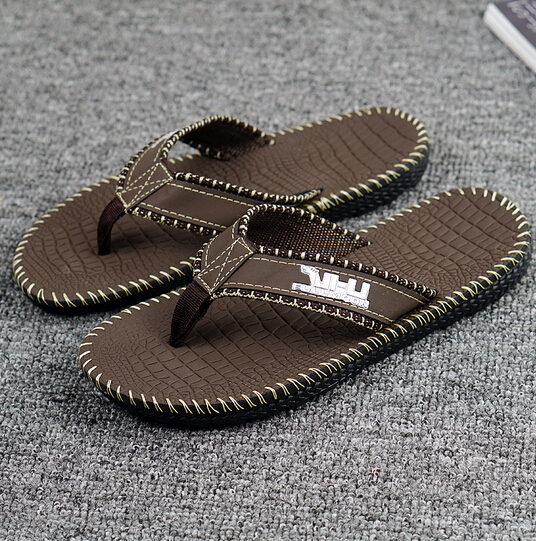 2017 New men's Sandals Trend Flat Sandals And Slippers Summer Slip Breathable Sandals With Flip .WNH-1602