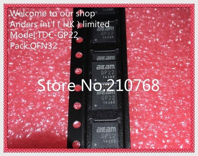 10 יח\חבילה TDC GP22 TDCGP22 GP22 QFN32