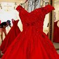 LS57110 Mais Recentes Modelos Vestido De Noite Dubai Longo Vestido de Noite de Cristal Fora do Ombro vestido de Baile Espartilho Voltar Avondjurken 2016