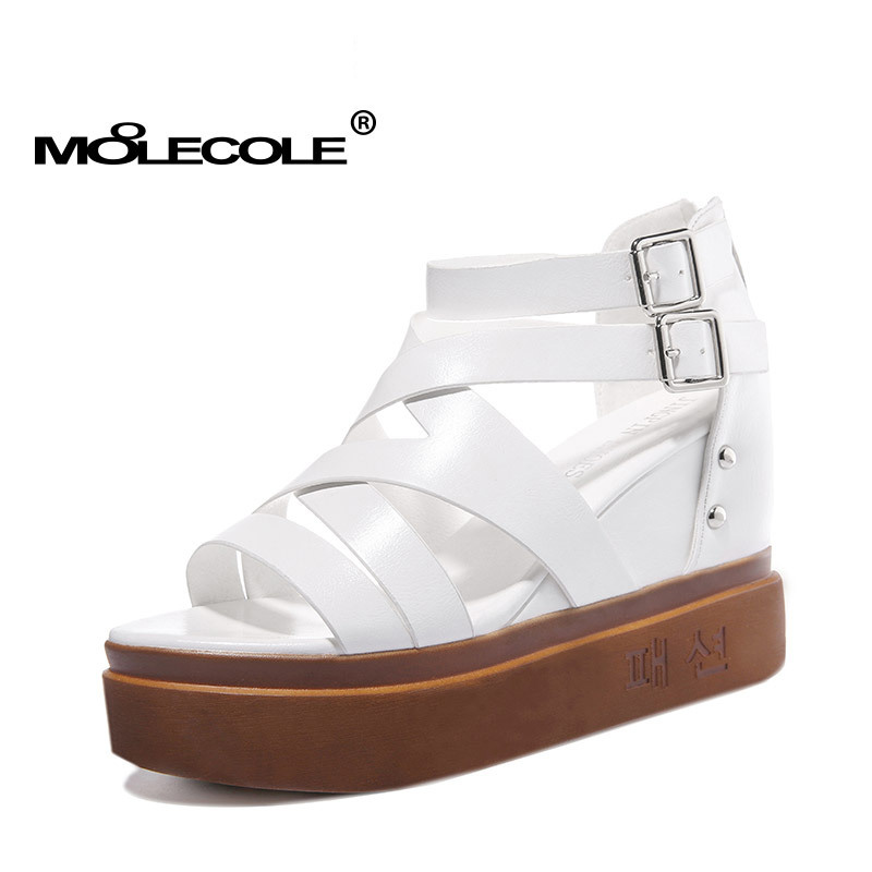 Il Tacco Scarpe Eur35 Da Moolecole 7 70162 Della Fibbia Ragazza Cinghia Nero Sandali 9 Piatto modello Donna bianco Formato Cm Altezza qUxgdx4w