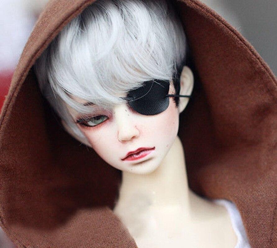 BJD Black Eyepatch Eye Mask For 1/6 11in 1/4 17in And 1/3 24in 70CM Tall BJD Doll SD17 SD MSD DK DZ AOD DD VOLK S Doll