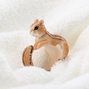 YYW популярный товар, новое дизайнерское милое кольцо с изгибами мультяшных животных, забавная для кошек собак, кроликов, птиц, лисиц, 3D манже...