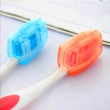 5Pcs/set Portable Toothbrush Cover Holder Travel Hiking Camping Brush Cap Case YKS Health Germproof Toothbrushes Protector