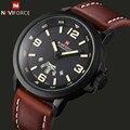 NAVIFORCE Top De Luxo Da Marca dos homens Sports Relógios Moda Casual Relógio de Quartzo Homens Militar Relógio de Pulso Masculino Relogio Relógio