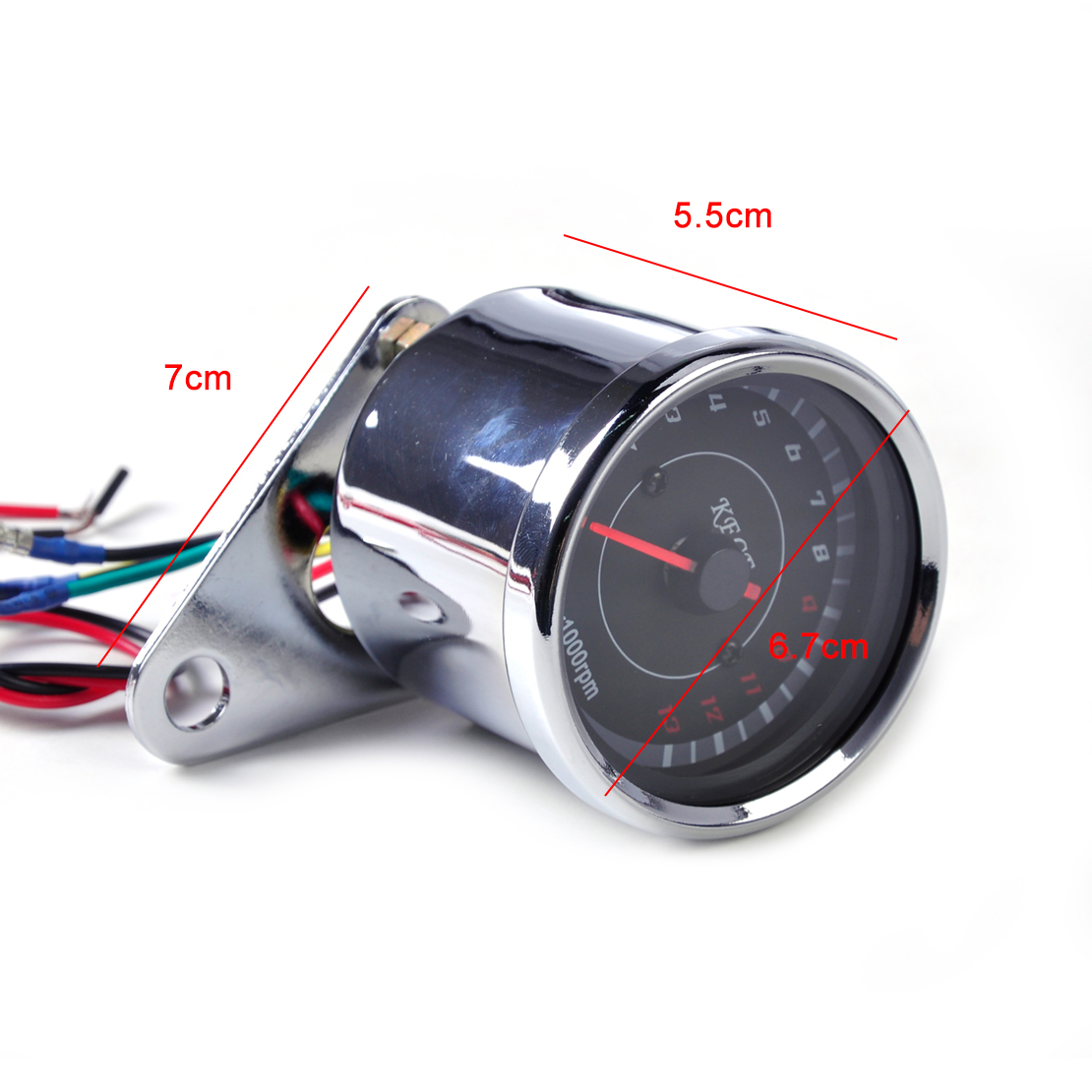 Beler 60mm Led 13000 Rpm Tachometer For Scooter Analog Tacho Meter Circuit Bar Click Here Gauge Motorcycle Honda Yamaha Kawasaki Suzuki Choppers