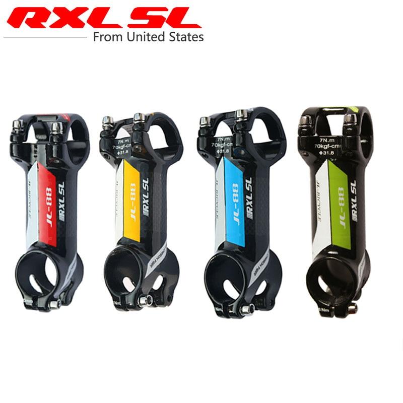RXL SL Carbon Stem Bicycle Stem Handlebar Stems 6//17 Degree 3K//UD Matte//Glossy Road MTB Mountain Bike Stems