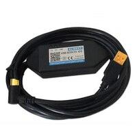 USB SC09 FX ISO kabel elektryczny mające zastosowanie do Mitsubishi serii FX PLC ISO magnetyczne izolacji programowania kabel do pobierania danych w Przyrządy do pomiaru poziomu od Narzędzia na