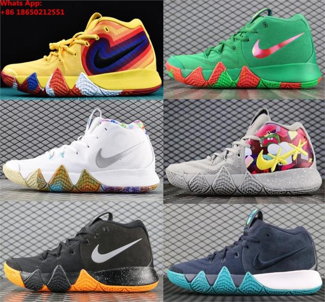 fe925877dfc0 2018 2019 Kyrie 4 EP 70s Uncle Drew Decades Pack Irving Mens Shoes ...