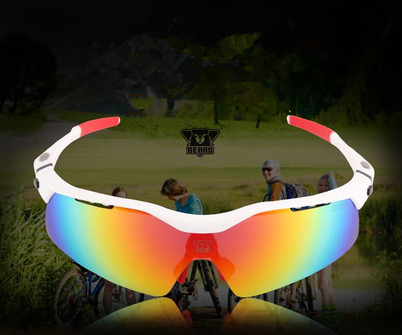 Cycling Glasses Polarized UV400 Outdoor Sports Windproof Eyewear men Women Mountain Bike Bicycle Glasses Sunglasses 5 Lens 2017 new brand mans 100% pure b titanium glasses man ultra light full frame polarized sunglasses men anti uv400 eyewear
