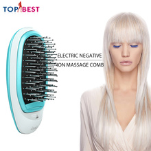 Electric Hair Brush for Relieve Stress Magic Beauty Comb Massage Home Travel Using Ionic Hairbrush