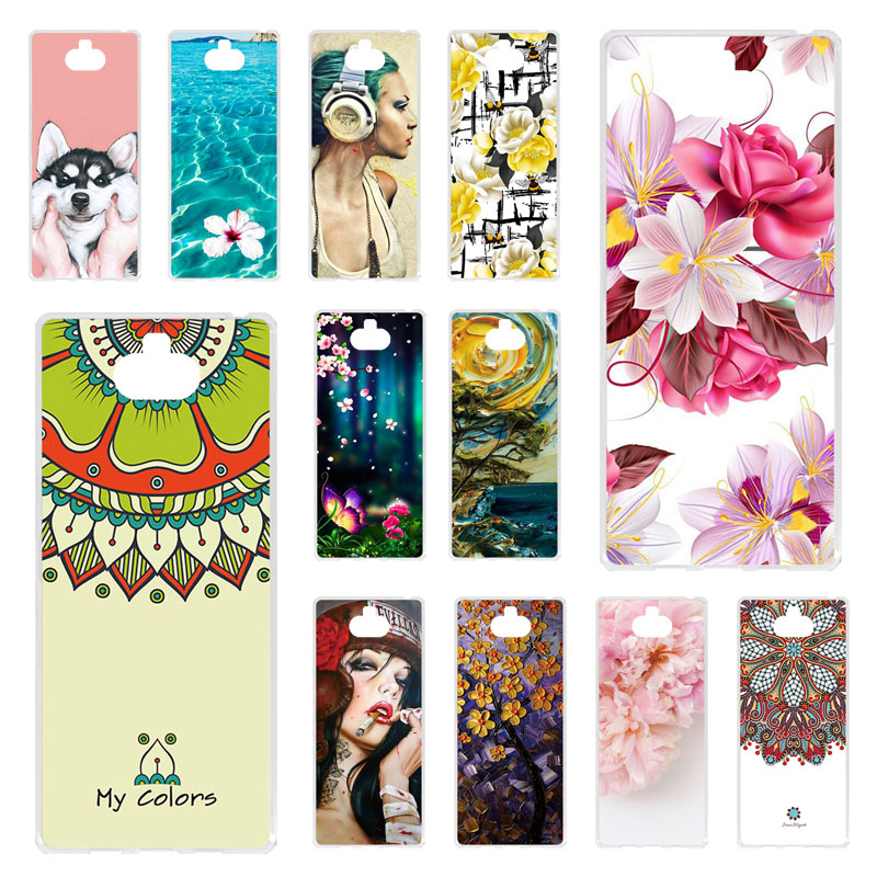 TAOYUNXI 6.0'' For <font><b>Sony</b></font> Xperia 10 <font><b>Case</b></font> Silicone Painted Soft TPU Back Cover For <font><b>Sony</b></font> Xperia 10 Phone <font><b>Cases</b></font> Coque For <font><b>Xperia10</b></font> image