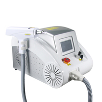 Q switch nd yag laser beauty salon equipment tattoo removal machine With red aiming