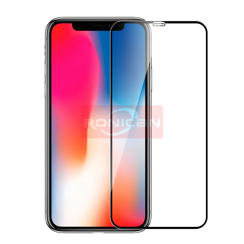 iPhone XS MAX screen protector iPhone XR X glass on iPhone 7 protective glass on iPhone 8 6 6S plus tempered glass full cover