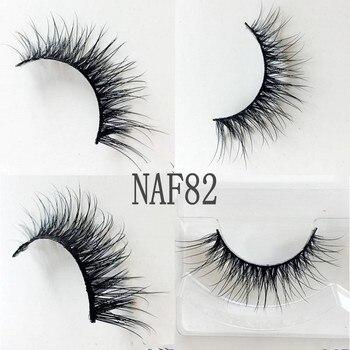 UPS Free Shipping 3D Mink Eyelashes 200pair/lot false eyelashes hand-made long thick mink lashes collection natural mink lashes