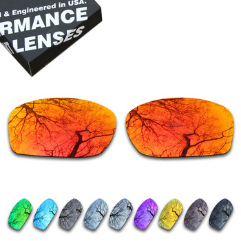 ToughAsNails Polarized Replacement Lenses for Oakley Fives Squared Sunglasses – Multiple Options