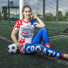 Worldcup 2018 Women Leggings Croatia Cheer