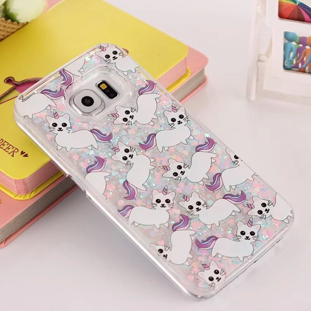 samsung galaxy s6 edge coque licorne