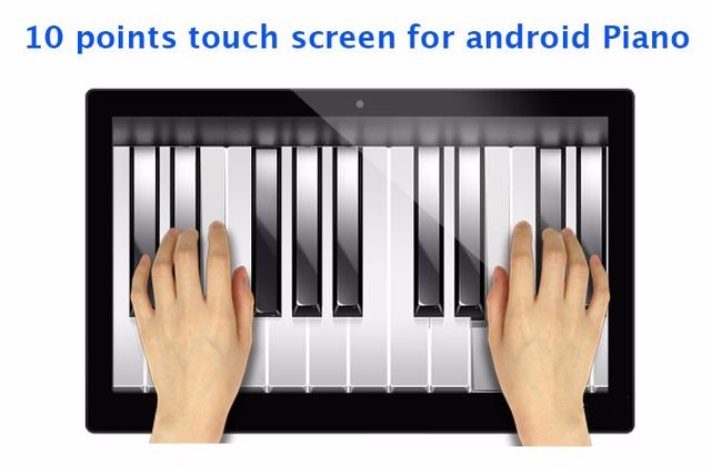 10 points touch screen