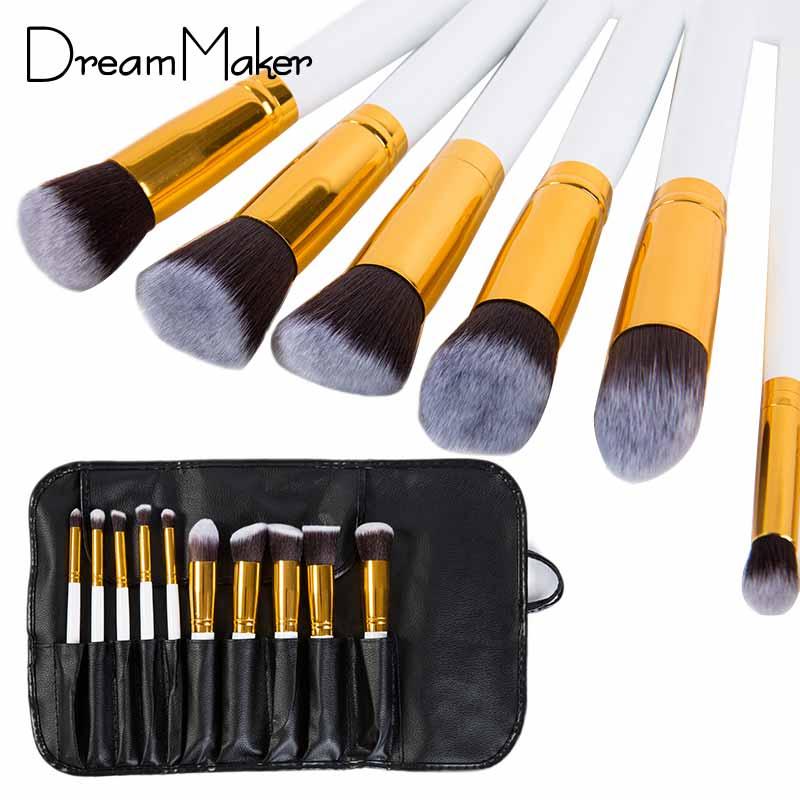 Professional Makeup Set Kits Brushes Kabuki Make up Cosmetics Brush ...