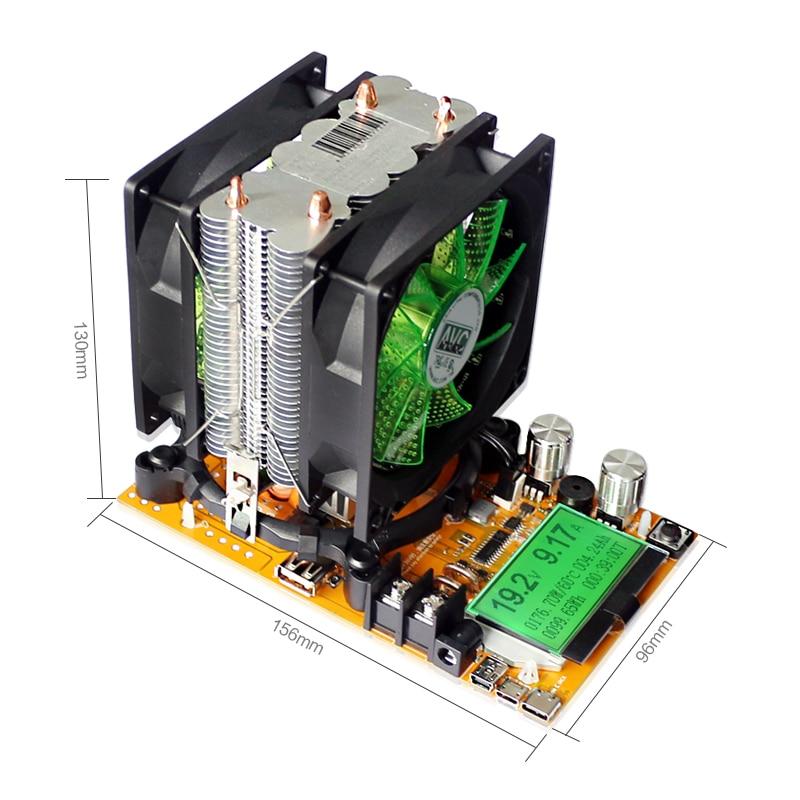 200V 20A 180W állítható állandóáramú elektronikus terhelésű - Mérőműszerek - Fénykép 6