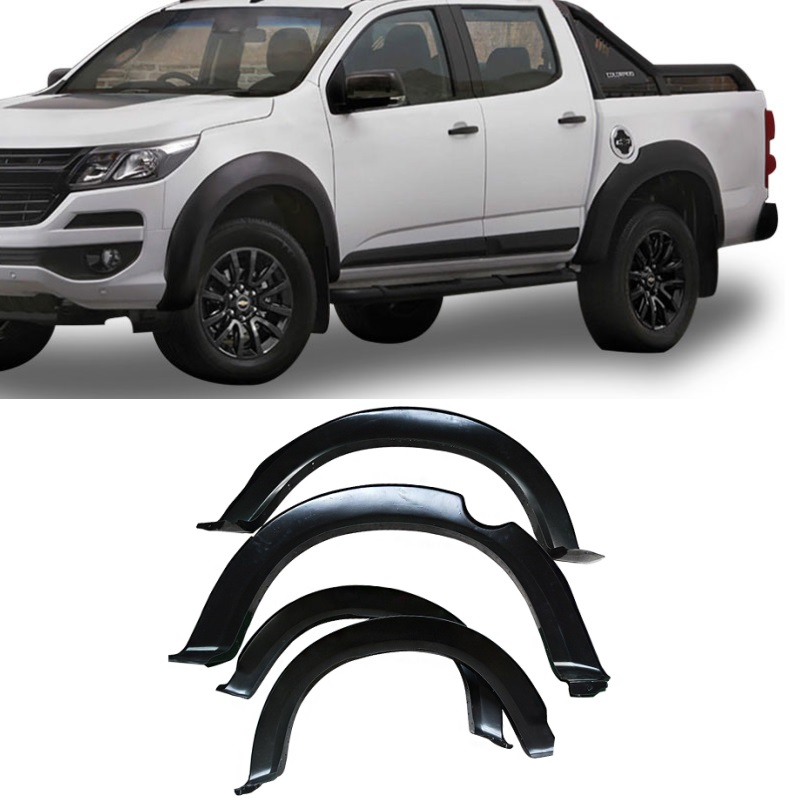 exterior auto accessories 4x4 car parts fender flare fit for chevrolet CHEVY COLORADO 2016 2019 WHEELS COVER TRIMS FENDER FLARES
