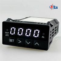 XMT7100 AC DC85 265V Orange Intelligent Digital PID Temperature Controller 48*24mm Thermostat Regulator with Buildin SSR