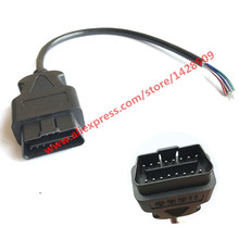 16 Pin OBD2 OBD II J1962M Male Auto Car Accessories Diagnostic Extension Cable Wiring Harness Connector_220x220 compare prices on obd2 connector pins online shopping buy low wiring harness connector pins at fashall.co