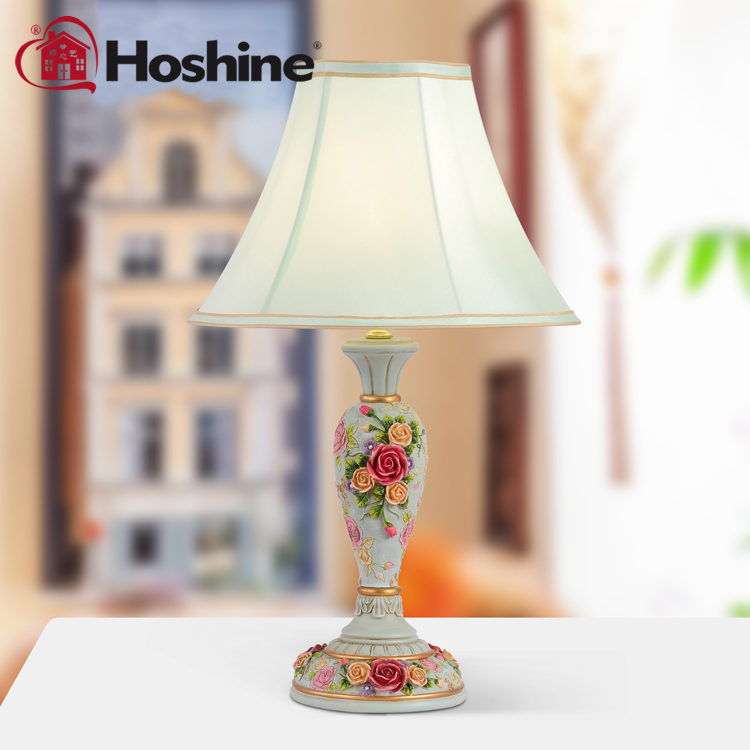 Hoshine Brand Fashion Home Lampe Deco Modern Table Lamps American Style Rose Table Lamp Rose Vintage Table Lamp For Living Room deco home буфет