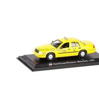 1 43 Scale USA 1992 Crown Victoria Newyork Taxi Model Car Toy Diecast Alloy Metal Car