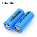 2PCS LiitoKala 26650-50A 5000mAh 26650 Li-ion 3.7v Rechargeable Battery for Flashlight 20A 3.6V Power batteries